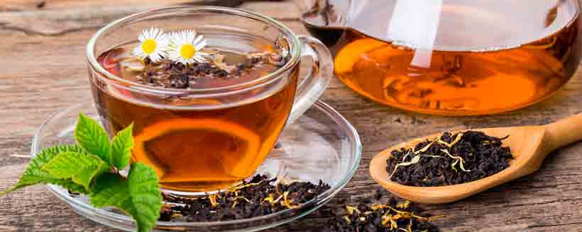 Чай, зеленый чай, черный чай